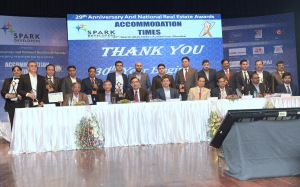 Awardees and speaker at Accommodation Times Award
