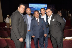 Diipesh Bhagtani of Jaycee Homes, Prateek (Rajesh Lifespace)& Ajay Nahar (Nahar Group)
