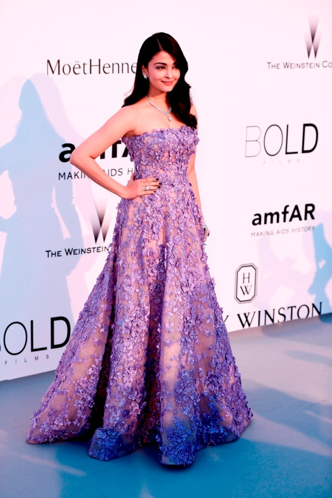 Aishwarya Rai Bachchan at the amfAR gala