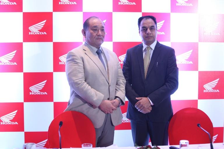 Mr. Keita Muramatsu, President and CEO HMSI And President Honda Motor