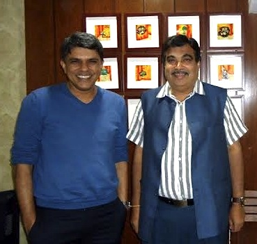 Dr Muffi and Nitin Gadkari