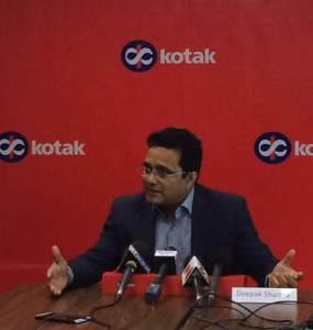 Mr. Deepak Sharma, Chief Digital Officer, Kotak Mahindra Bank