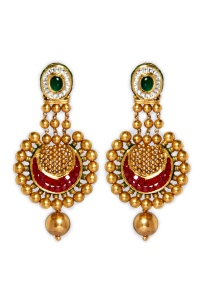 22k-gold-traditional-jadau-earrings-with-semi-precious-rubies-in-invisible-setting