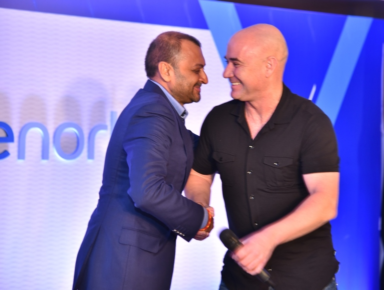 vishal-nevatiamanaging-partner-of-true-north-with-tennis-world-champion-andre-agassi-at-the-new-corporate-brand-identity-event-of-true-north