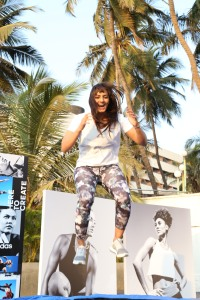 Geeta Phogat at the adidas _HeretoCreate event