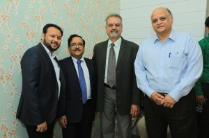 l-to-r-coo-of-asian-cancer-institute-mr-rahul-dutta-dr-sanjay-sharma-director-and-head-nech-oncosurgeon-dr-deepak-parik-director-dr-ramakant-deshpande-executive-vice-c
