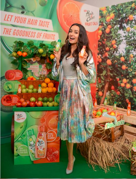 Shraddha Kapoor launches Hair&Care Fruit Oils