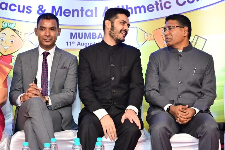 Mr. Kevin John, Regional Head, Major MD Ali  Shah & Mr. Dinesh Victor, MD of  SIP Abacus Academy.JPG