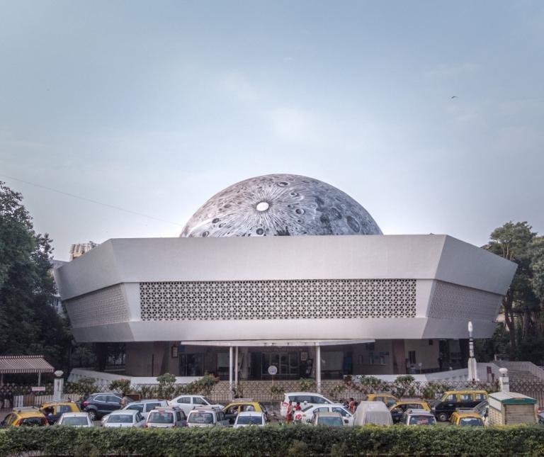 Lunar Dome at Nehru Planetarium 1